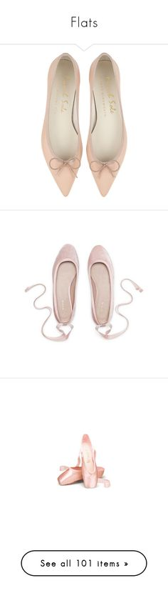 """""""Flats"""" by rastaress-motso ❤ liked on Polyvore featuring shoes, flats, flat shoes, leather pointy toe flats, pointy toe ballet flats, ballet pumps, leather pointed toe flats, ballerina pumps, velvet shoes and ballet shoes flats"""