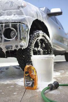 Meguiars Gold car wash. Good clean fun...