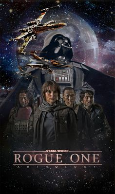 Star Wars Rogue One poster artwork by Dan Zhbanov