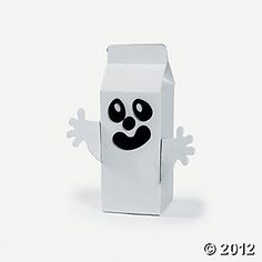 Ghost milk carton