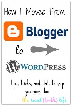 How I Moved From Blogger To WordPress