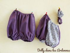 Baby bloomers and headband -- Des bloomers et headband pour bébé| Dolly dans les Ardennes
