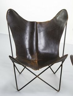Hardoy Butterfly Chair With Nature Leather | Nature Leder HARDOY BUTTERFLY  CHAIR | Pinterest | Butterfly Chair And Butterfly