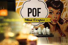 Crêperie Pof, Mercado de la Merced de Malaga - Costa del Sol (Espagne)