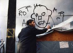 Jean Michel Basquiat, Jm Basquiat, Downtown 81, Graffiti History, Graffiti Artists, Basquiat Paintings, Etudes Studio, Street Art, Surrealism