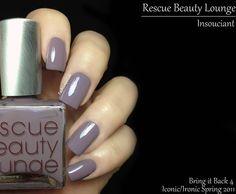 Fashion Polish: Rescue Beauty Lounge Bring it Back 4! Insouciant, Aqua Lily and Più Mosso