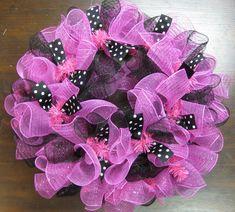 Mesh Wreaths by DancingintheSun on Etsy, $45.00