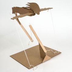 Wood Shop Projects, Welding Projects, Projects To Try, Easy Paper Crafts, Diy Home Crafts, Diy Cardboard Furniture, Floating Table, Paper Architecture, Wood Rack