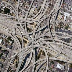 Dallas, Texas, USA, interchange. Looks like a Gordian Knot.