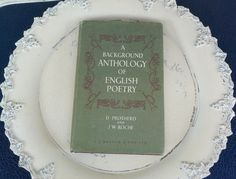 A Background Anthology of English Poetry E.J. by jensdreamvintage