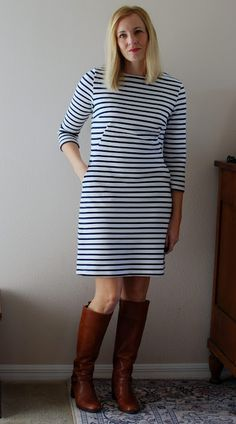 SouthShore Handmade: Ottomon Breton Dress hybrid: Simplicity 1609 and McCalls 6886