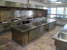 hotel kitchen design. Hotel Kitchen Equipment Design Cozinha Industrial 1  CAFE Pinterest Buffet and Iron