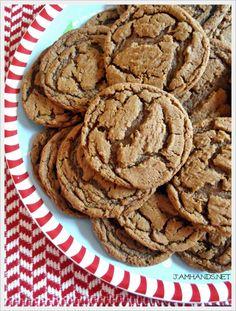 Jam Hands: Chewy Gingerbread Cookies