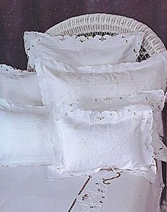Imperial Style Pillow Shams & baby cases.