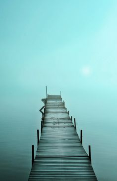 Blue sunrise, Cottage decor, Michigan lakes,11x17, Fine Art photograph, Lake house decor, original, pier, cottage chic, blue decor, sunrise on Etsy, $75.00
