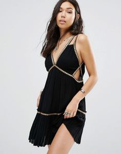 Free People Shine Marisol Mini Dress