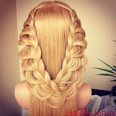 Instagram photo by @hairbyjaney (Jane) | Iconosquare lace braid