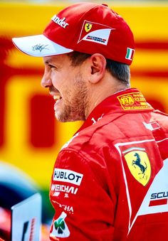 2017/8/26:Twitter:@ScuderiaFerrari: #Seb5:' I had a very good pace, especially in the last lap. And I had a little help from a friend.. ' #BelgianGP #Quali