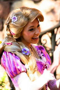 Disney Princess Challenge: Day 24- Favorite Parent... Rapunzel's parents aren't face characters in the parks, but I think they are the best parents. They never stopped caring about her, and they never gave up hope in finding her.