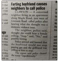 Police Blotter: Bathroom Humor Edition