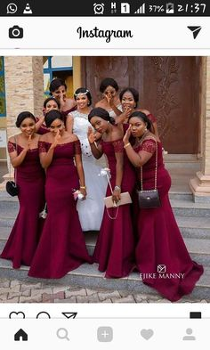 Dark Red Sexy Mermaid 2019 African Bridesmaid Dresses Off the shoulder Lace Sleeves Wedding Guest Party Prom Dress Gowns robes de demoisel African Bridesmaid Dresses, African Lace Dresses, Mermaid Bridesmaid Dresses, African Wedding Dress, Burgundy Bridesmaid Dresses, Prom Party Dresses, Wedding Bridesmaids, Wedding Dresses, Royal Blue Bridesmaids