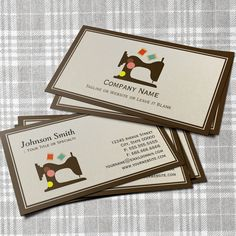 Tailor Business Cards | Business cards