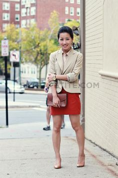 Beige and red1