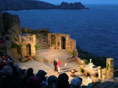 Minack Theatre Cornwall, must see a night performance one day.