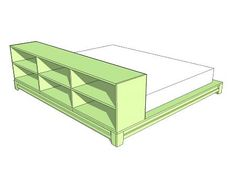 DIY Projects Easiest Teen Platform Bed Woodworking Plans by Ana White Do It Yourself Furniture, Diy Furniture Plans, Simple Furniture, Furniture Websites, Inexpensive Furniture, Ikea Furniture, Furniture Projects, Office Furniture, Wood Projects