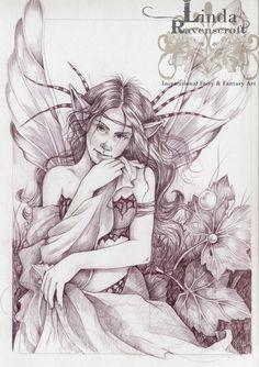 Linda Ravenscroft Fantasy Artist & Fairy Artist