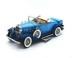 FRANKLIN MINT 1932 Chevrolet Confederate Deluxe Roadster LE#0240 Diecast 1:24 - Diecast Model Cars