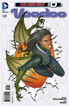 Pricilla Kitaen, Voodoo.  Great comic series, awesome art!