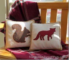 Magazine Inspired Fall Pillows - Sweet Pea