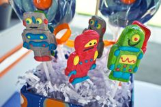 Robot lollipops