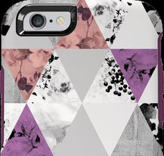 """Perfected Angle by Nina Garcia: """"OtterBox creates wearable accessories for your tech — and my newest case design is no exception. This case combines sharp edges with soft, floral elements. The result is an enchanting accessory."""""""