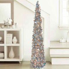 5 Ft Collapsible Tinsel Tree Target Christmas Tinsel