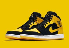 "#sneakers #news  There's Something New About The Air Jordan 1 Mid ""New Love"" Retro"