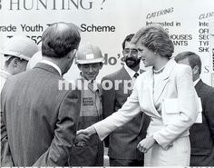 Princess Diana during her visit to the Dr Barnardo's Home, Whitley Bay.