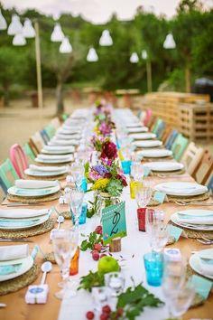 Las mejores ideas de cristalería para tu boda 2020 en Pinterest Spanish Party, Spanish Wedding, Wedding Events, Our Wedding, Weddings, Wedding Colors, Wedding Styles, Wedding Decorations, Table Decorations