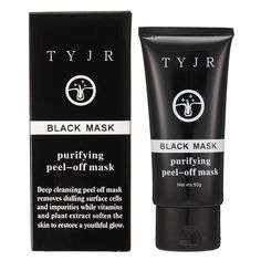 TYJR Peel Off Blackhead Suction Mask Acne Remove Deep Cleansing Pores Skin Care Smooth
