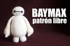 Baymax Amigurumi - Patrón Gratis en Español e Inglés aquí: http://www.enemydolls.com/2015/01/baymax-amigurumi-patron-espanol-gratis-free.html