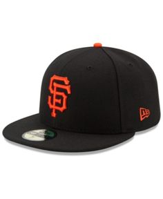 3f6367fe6fa New Era Kids  San Francisco Giants Authentic Collection 59FIFTY Cap - Black  6 1 2