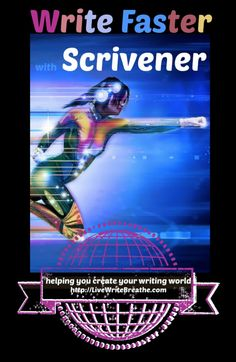 In 6 Ways to Write Fast with Scrivener, I explain how I used this writing software to help me write two full-length novels over the summer. #writing #amwriting #writingtips
