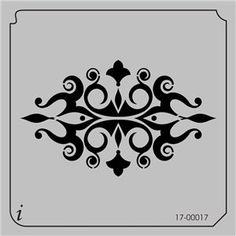 17-00017 - Wall Decorating Stencils - Wallpaper Stencils - Wall Stencil - Wall Stencils - Stencil Pattern