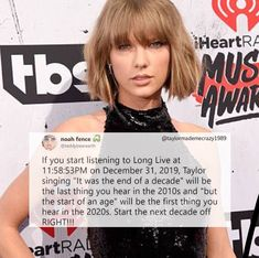 Y'all I did this and it was PERFECT timing so thanks to whoever put this into the world! Also happy new year (New Year's Day) Swifties! Taylor Swift Funny, Taylor Swift New, Taylor Swift Quotes, Taylor Swift Facts, My Idol, Just In Case, Queens, Cheesy Memes, Lyrics
