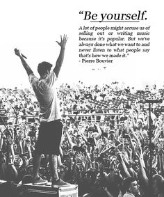 Simple Plan- Be yourself.