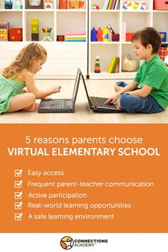 Young learners can thrive in online public school! Read the top 5 reasons why parents choose elementary school with Connections Academy.