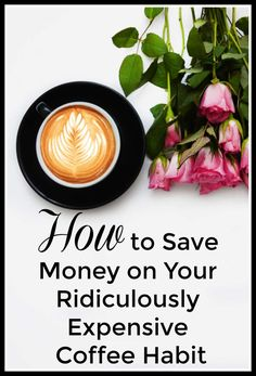Do you love your coffee habit but hat what it's doing to your wallet? Are you looking for ways to lower your coffee expenses without giving up buying your favorite latte? The following post shares how one easy gadget is saving the following money blogger tons of money without giving up her coffee habit. Ways To Save Money, Money Tips, Money Saving Tips, Expensive Coffee, Frugal Tips, Healthy Foods To Eat, Money Management, Frugal Living, Hat