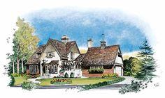 English Tudor House Plans & English Cottage Style Home Plans