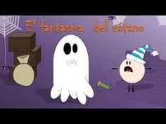 Cuento de Halloween para niños: El fantasma del sótano - Halloween temporada 2 - YouTube